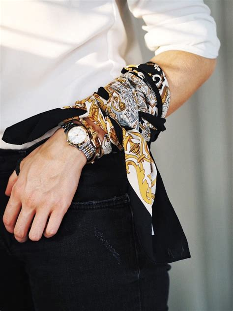 ways to wear the neck scarf lydia tomlinson