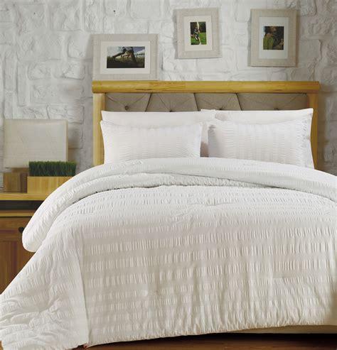 100 cotton comforter sets 3 koro 100 cotton seersucker comforter set ebay