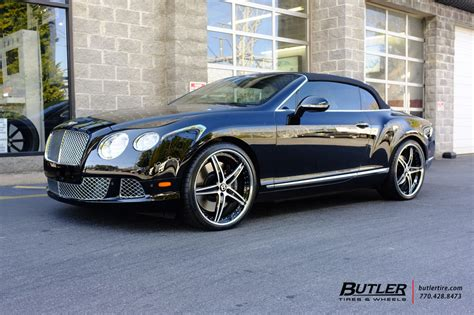 c bentley bentley continental gt c with 22in lexani lf705 wheels