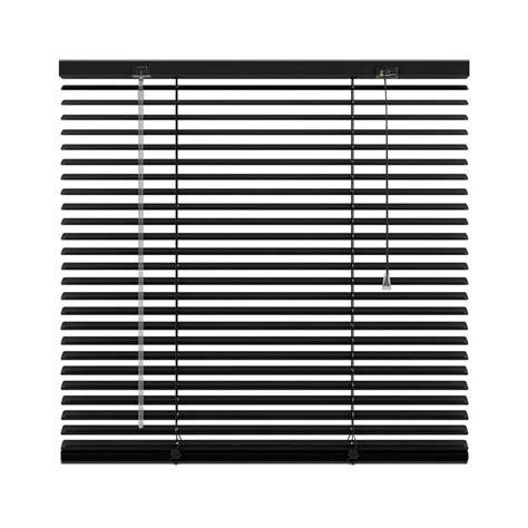 jaloezie 90 cm breed horizontale jaloezie aluminium 25 mm zwart 200x180 cm