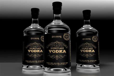 label design vancouver label design vancouver vodka label design on behance