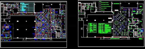 Food Court Layout Plan and Ceiling Design Plan n Design