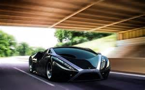 black sports car wallpapers and images wallpapers