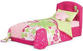 american doll bed american doll bloom bed and bedding set for dolls ebay