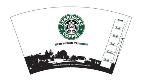 starbucks gift card template 29 images of starbucks coffee cup template infovia net
