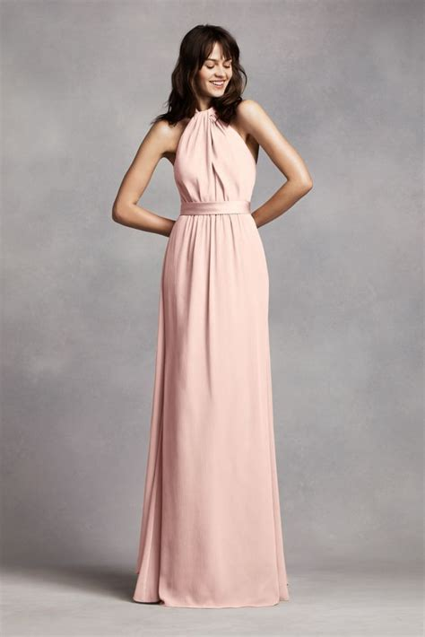 Maxi Hara Pink 25 best ideas about halter bridesmaid dresses on