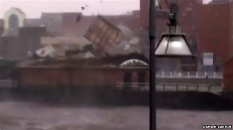 limerick boat club roof uk weather video from the recent uk storms and flooding