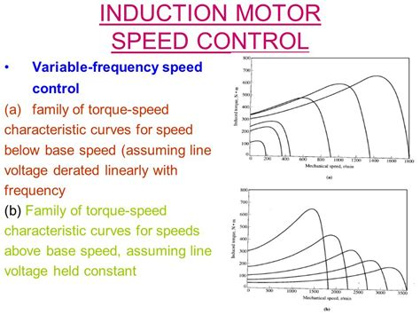 induction motor torque speed characteristics induction motors ppt