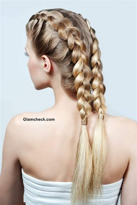 how to make hair buns from braids 174 best images about beautiful braiding and beading