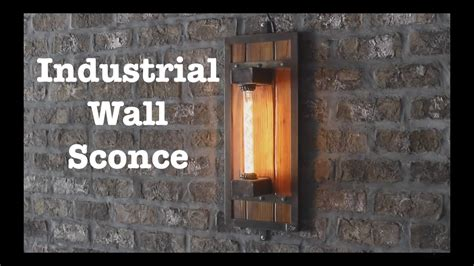 industrial wall industrial wall sconces for escape brewing how to