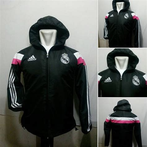 Harga Macbeth Madrid Black White august 2014 jual jaket real madrid home away murah di