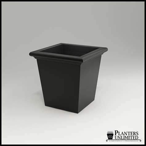 Tapered Square Planter by Tuscana Tapered Square Planter