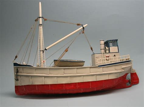 ho 1 87 scale 68 steam freighter full hull ho scale - Ho Scale Boat Kits