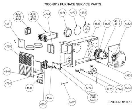 furnace parts diagram atwood rv furnace parts diagram schematics wiring diagrams