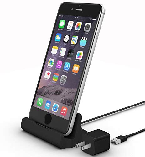 iphone lightning dock black
