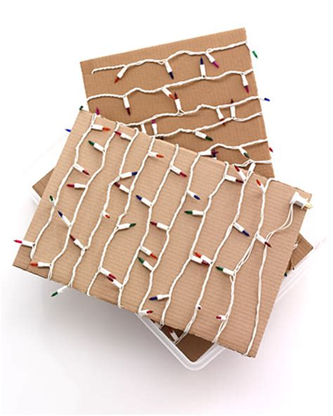 savvy housekeeping 187 three ways to store christmas lights