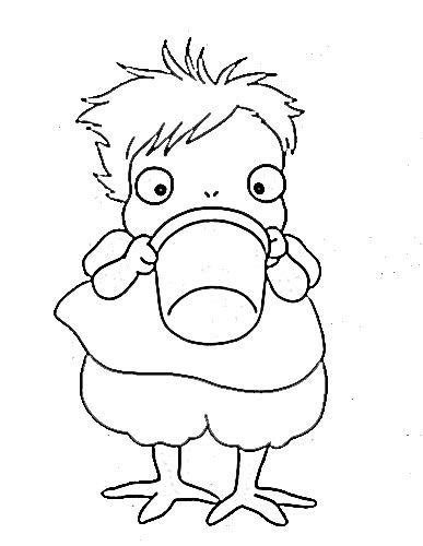 coloring pages ponyo 106 best studio ghibli coloring pages images on pinterest
