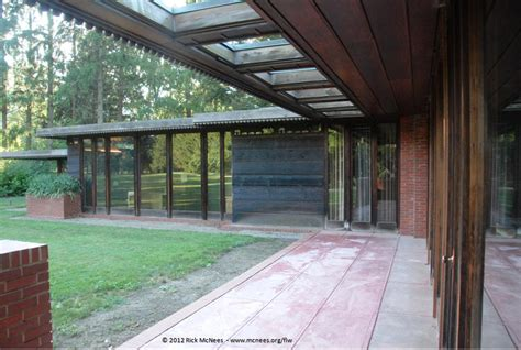 weltzheimer johnson house frank lloyd wright foundation prairie school architecture photo gallery by rick mcnees