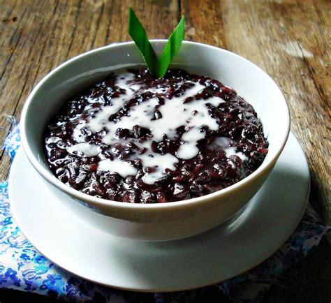 resep membuat bubur kacang hijau dan ketan hitam resep membuat bubur ketan hitam kuah santan buku masakan