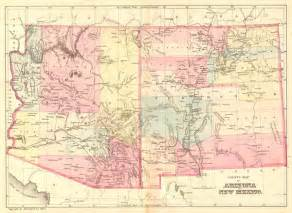 arizona and new mexico geographicus antique maps