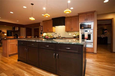 Oak Cabinets by Espresso Stained Oak Cabinets Deductour