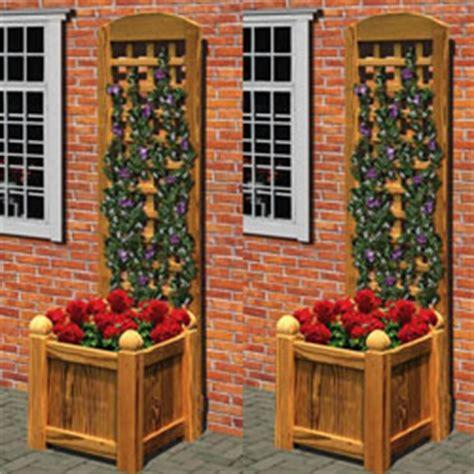 membuat hiasan dinding kayu cara membuat hiasan dinding dari teralis kayu dan tanaman