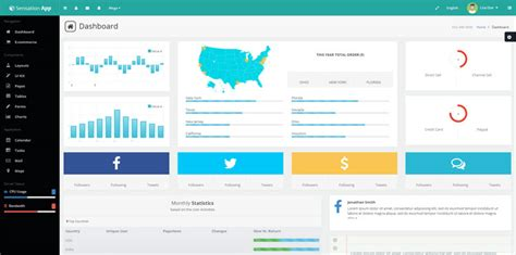 25 best bootstrap admin dashboard templates