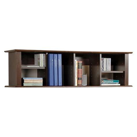 wall mounted desk hutch wall mounted desk hutch espresso prepac target