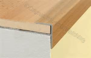 Wood Stair Edging by Aluminium Wood Effect Stair Edge Nosing Trim Step Nose