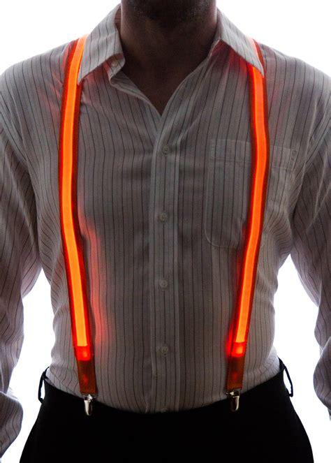 light up bow tie and suspenders light up suspenders neon nightlife