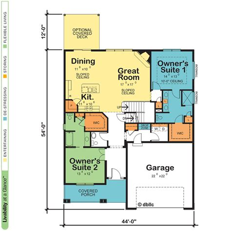 Dual Master Suite Home Plans by Dual Master Suite Home Plans Homes Floor Plans