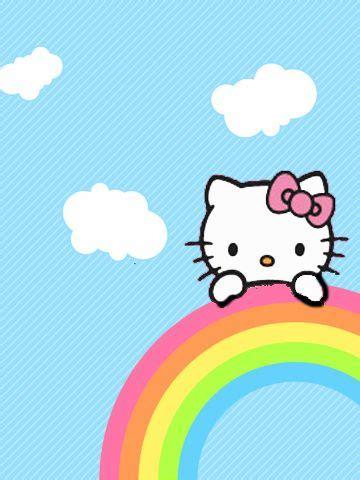 wallpaper hello kitty rainbow 205 best images about hello kitty on pinterest sanrio