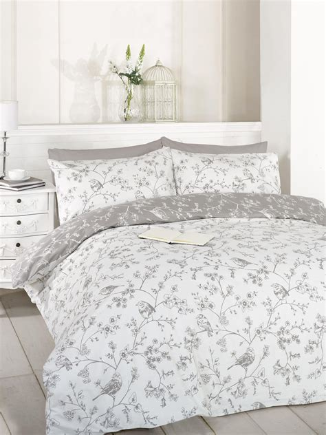 Grey Duvet Cover Grey Duvet Quilt Cover Bedding Bed Set Single King