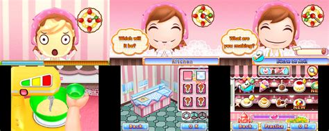 Kaset 3ds Cooking Sweet Shop review cooking sweet shop