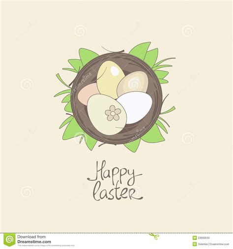 free easter card templates for photographers happy easter card template stock vector image 23693045