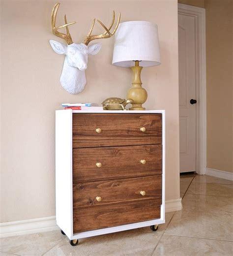 Mid Century Ikea Hack by 26 Cool Ikea Rast Dresser Hacks You Ll Love Digsdigs