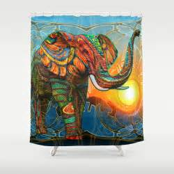 elephant s shower curtain by waelad akadan society6