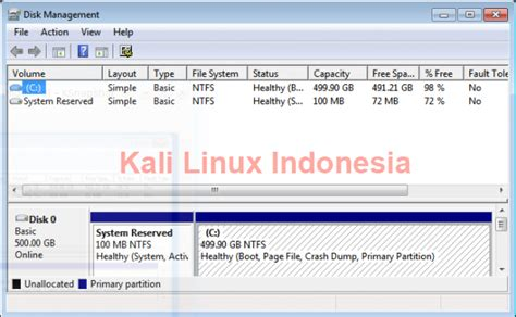 Dvd Kali Linux Pilih Versi cara dual boot kali linux dan windows sonny s software