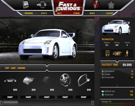 fast and furious online game fileplanet free games fast and furious
