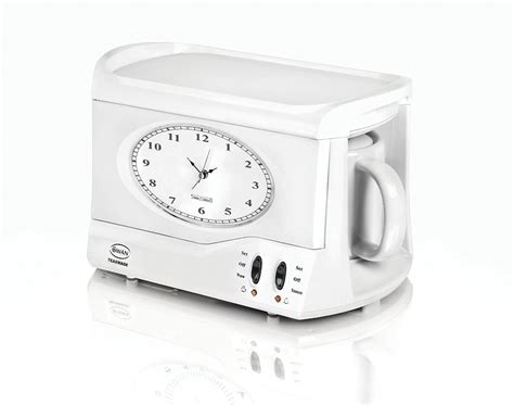 teasmade the classic bedside tea brewing alarm clock now available in the usa boing