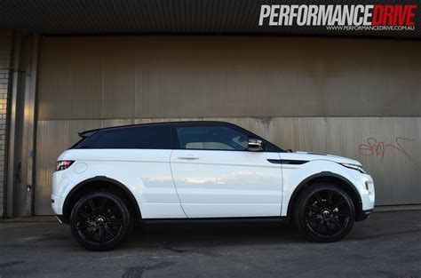 range rover coupe 2012 range rover evoque coupe dynamic si4 side