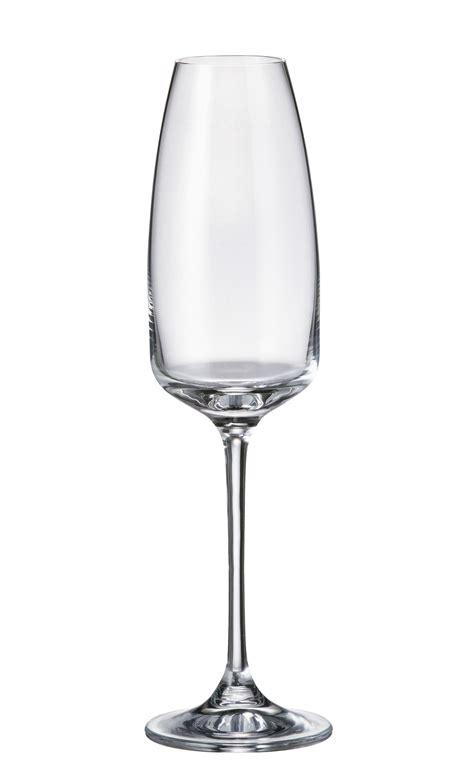 bicchieri bohemia set 6 bicchieri flute alizee in cristallo bohemia di