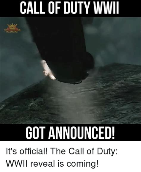 It Is Official by Call Of Duty Wwii Got Announced It S Official The Call