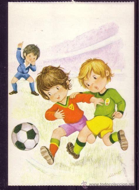 imagenes niños jugando caricaturas ni 241 os jugando futbol caricaturas imagui