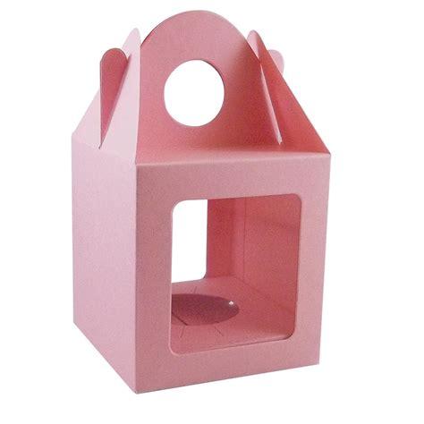 Trellis Menu 10 X Light Pink Single Cupcake Muffin Fairy Cake Boxes
