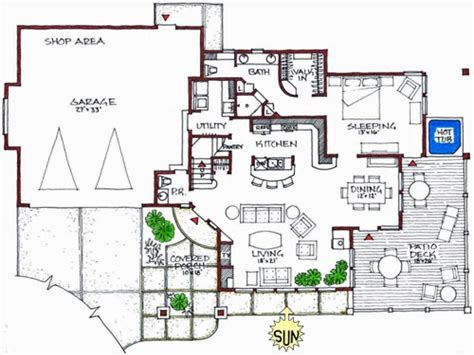 green floor plans sustainable modern house plans modern green home design