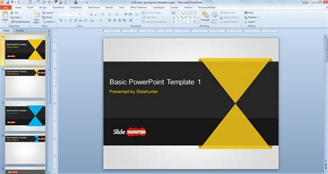 powerpoint tutorial basic free basic powerpoint template
