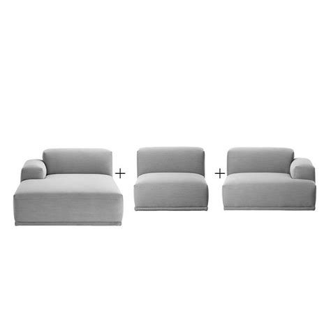 canape lounge connect canap 233 lounge angle m 233 ridienne muuto