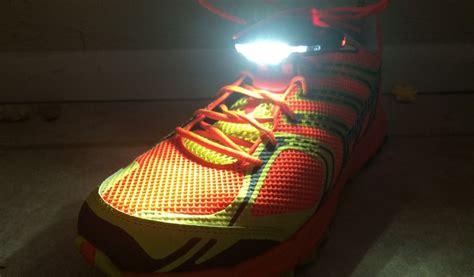 night runner shoe lights night runner 270 shoe lights ultramarathon news