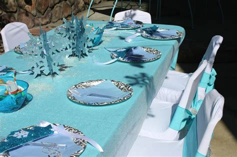 frozen themed party kelso disney frozen party winter wonderland party decorations